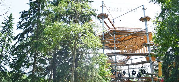 Snow Valley Aerial Park Now Open